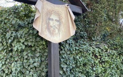 Kříž kousek od Berounky